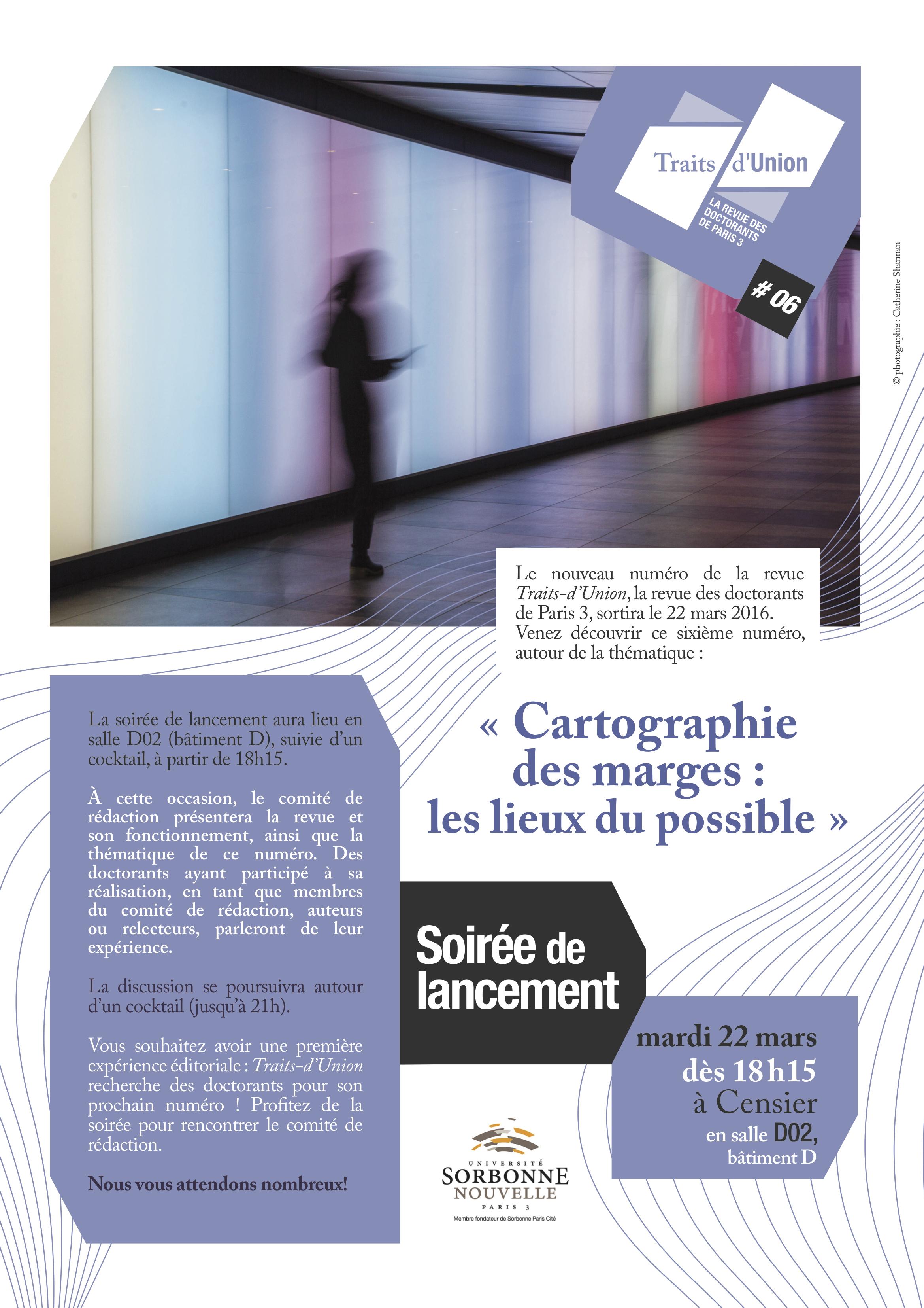 Affiche Traits-dUnion no. 6