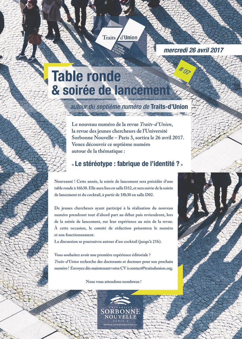 Invitation Table Ronde N8