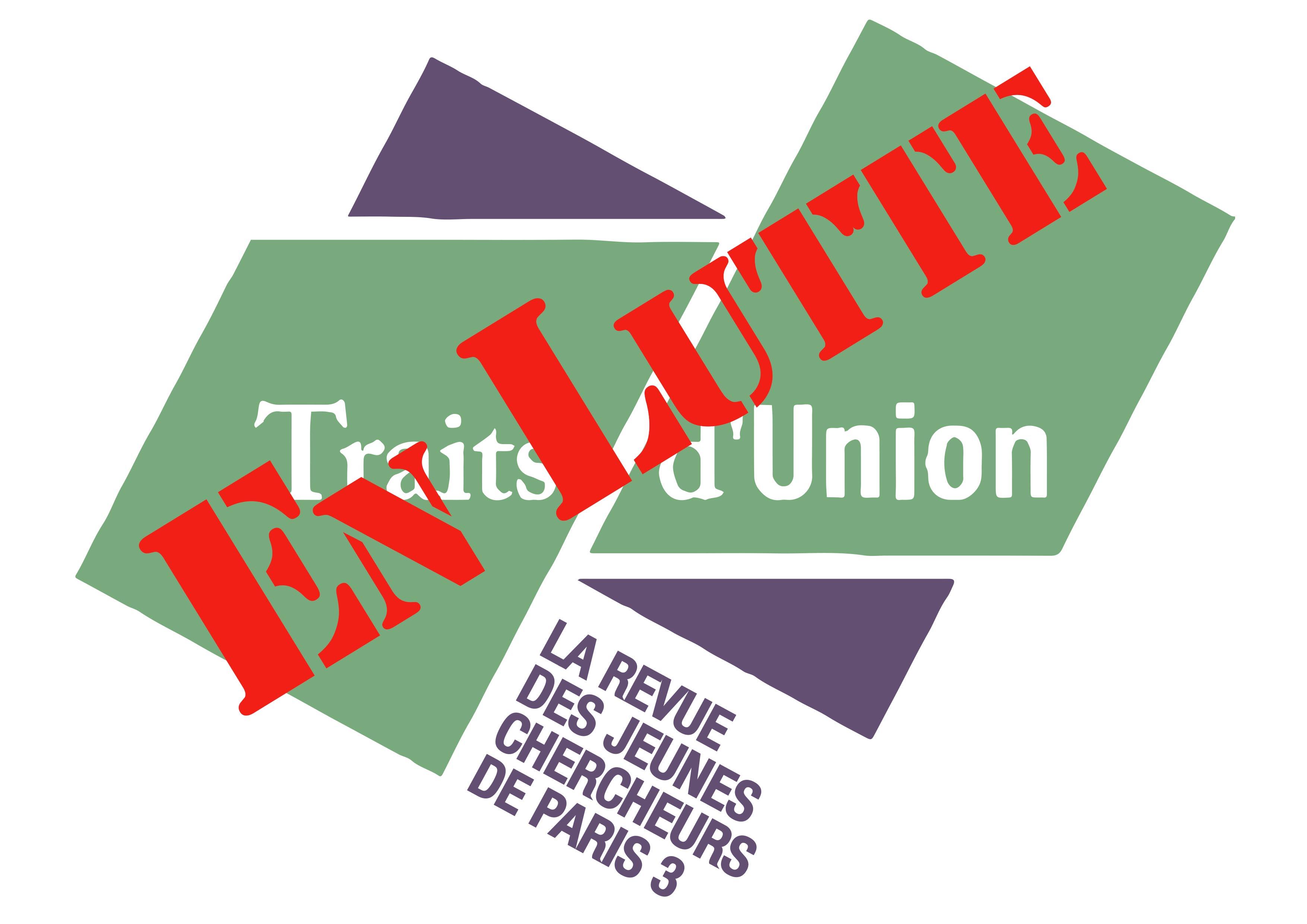 La Revue Traits-d'Union rejoint la lutte contre la réforme des retraites et le projet de loi LPPR